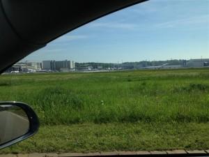Flughafen, Landebahn